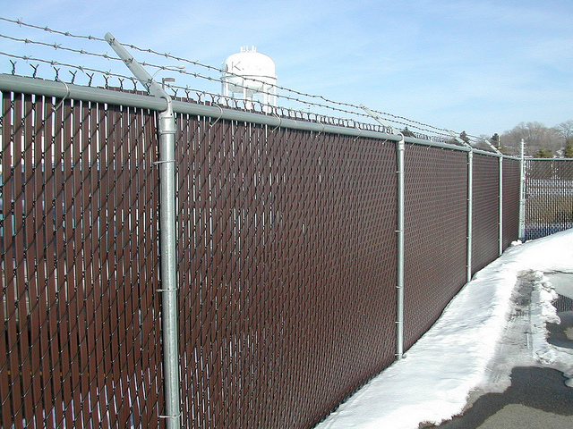 Commercial chain link fences yutka fence